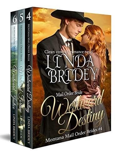 Montana Mail Order Bride Box Set (Westward Series) Books 4-6 by Linda Bridey