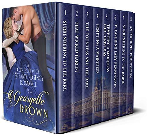 Georgette Brown Boxset: A Collection of Steamy Regency Romance