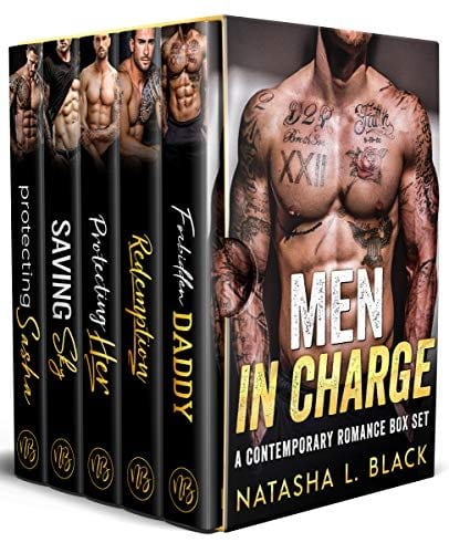 Men in Charge: A Contemporary Romance Box Set by Natasha L. Black