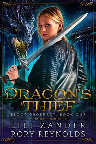 Dragon's Thief: A Reverse Harem Serial (Blood Prophecy Book 1)Dragon's Thief- A Reverse Harem Serial (Blood Prophecy Book 1) by Lili Zander & Rory Reynolds