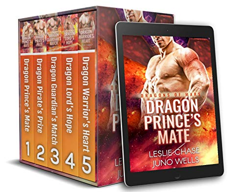 Dragons of Mars Box Set by Leslie Chase & Juno Wells
