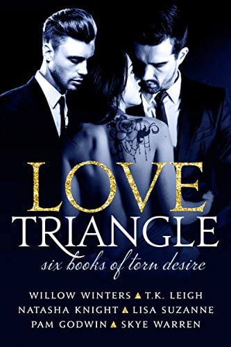 Love Triangl:- Six Books of Torn Desire by Willow Winters, Pam Godwin, Natasha Knight, Skye Warren, T. K. Leigh and Lisa Suzanne