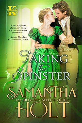 Taking the Spinster (The Kidnap Club Book 3) by Samantha Holt