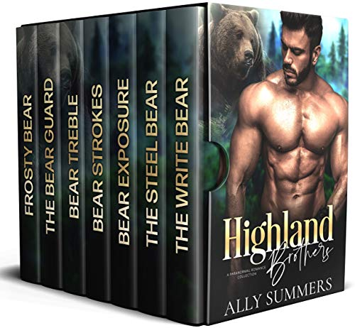 Highland Brothers: A Paranormal Romance Collection by Ally Summers