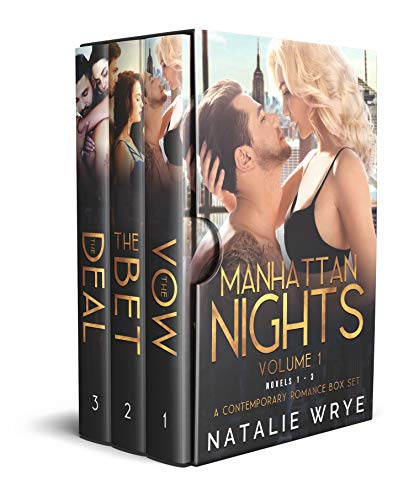Manhattan Nights (Novels 1-3): A Contemporary Romance Box Set by Natalie Wrye