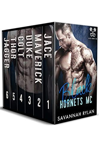 The Black Hornets MC Series: Books 1-6 by Savannah Rylan